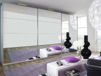 Rauch Select Beluga-Plus Schwebetürenschrank Variante E Kleiderschrank Größe und Ausführung wählbar