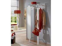Wittenbreder Woody plus Spiegel Garderobe breit 741 für Flur, Furnier Lack matt oder Hochglanz Ausführung wählbar