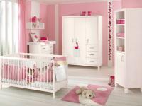 Paidi Pinetta Babyzimmer 3 teilig Kleiderschrank Wickelkommode Babybett in Fichte weiß oder natur