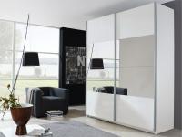 Rauch Select Beluga-Plus Schwebetürenschrank Variante A Kleiderschrank Größe und Ausführung horizontal wählbar