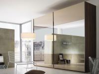 Rauch Steffen Linea Concept 20up Schwebetürenschrank Kleiderschrank Front 3 Spiegel