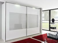 Rauch Dialog Schwebetürenschrank X-tend frame Frontmitte Effektglas - Größe und Farbausführung wählbar