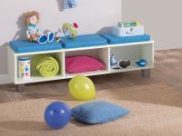 Paidi Biancomo Lowboard mit Sitzkissen Kinderzimmer Farbe und Absetzung wählbar
