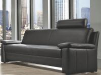 Steinpol Polsteria Flexi Form Sessel Einzelsofa Rücken echt 2-Sitzer 2, 5-Sitzer 3-Sitzer für Wohnzimmer in Echtleder Ausführung und Füße wählbar