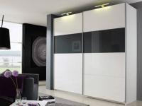 Rauch Select Beluga-Plus Schwebetürenschrank Variante C-2 Kleiderschrank Größe und Ausführung horizontal wählbar