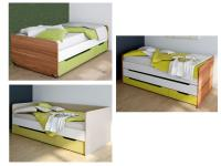 Wellemöbel Jugenzimmer Unlimited Bett Kojenbett Absetzung farbig mit oder ohne Bettkasten Gästebett Ausführung wählbar