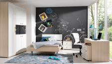 Wellemöbel Jugenzimmer Unlimited Bett Schrank Schreibtisch Nachtkommode Rollcontainer Ausführung wählbar