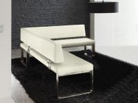 Venjakob IM PULS Eckbank mit Rückenlehne P1 IMPULS Sitzbank für Esszimmer Speisezimmer mit Stoff oder Lederbezug in mehreren Größen