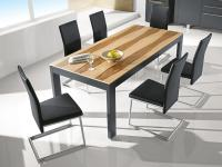 Gwinner Bellano Esstisch Tisch Breite ca. 90 cm für Esszimmer ohne Stühle Größe und Ausführung wählbar