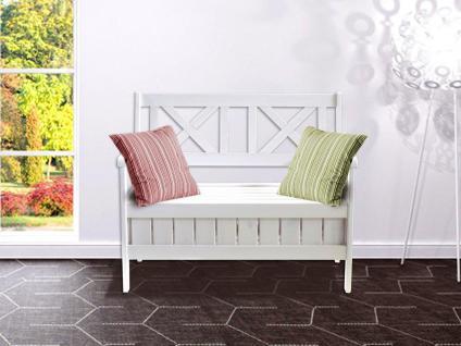 sitzbank wei landhaus online bestellen bei yatego. Black Bedroom Furniture Sets. Home Design Ideas
