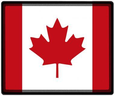 Mousepad Mauspad mit Motiv - Kanada Fahne Fußball Fußballschuhe - 82077 - Gr. ca. 24 x 20 cm