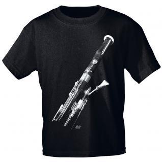 Designer T-Shirt - Basson - von ROCK YOU MUSIC SHIRTS - 10175 - Gr. S - XXL