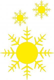 """(WD0815A) Wandtattoo/ Dekorfolie mit Motiv """" Sterne"""" Ø 120cm Länge max.135 cm, in 11 Farben"""