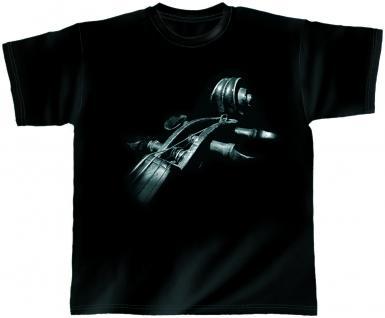 Designer T-Shirt - Moon Strings - von ROCK YOU MUSIC SHIRTS - 10377 - Gr. S-2XL