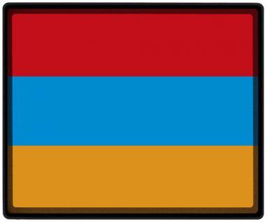 Mousepad Mauspad mit Motiv - Armenien Fahne Fußball Fußballschuhe - 82014 - Gr. ca. 24 x 20 cm