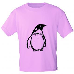 T-Shirt unisex mit Aufdruck in drei Farben Pingiun Gr. S ? XL 10144 rosa / L