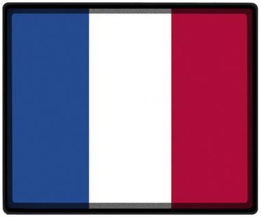 Mousepad Mauspad mit Motiv - Frankreich Fahne Fußball Fußballschuhe - 82051 - Gr. ca. 24 x 20 cm