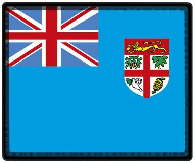 Mousepad Mauspad mit Motiv - Fidji Fahne Fußball Fußballschuhe - 82049 - Gr. ca. 24 x 20 cm