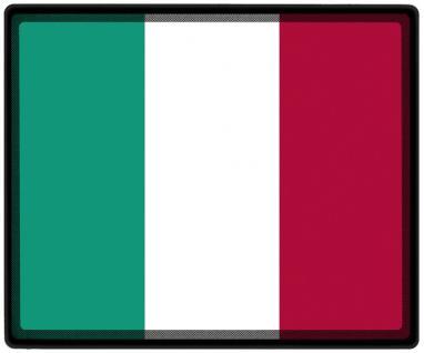 Mousepad Mauspad mit Motiv - Italien Fahne Fußball Fußballschuhe - 82070 - Gr. ca. 24 x 20 cm