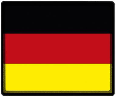 Mousepad Mauspad mit Motiv - Deutschland Fahne Fußball Fußballschuhe - 82040 - Gr. ca. 24 x 20 cm