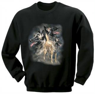 Kinder Sweatshirt mit Print - Malinoir - schwarz - 08625 - ©Kollektion Bötzel - 110/116