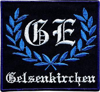 AUFNÄHER - NEU - 00754 - Gr. ca. 8, 5 cm x 8 cm - Patches Stick Applikation Bügel-Emblem