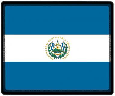 Mousepad Mauspad mit Motiv - El Salvador Fahne Fußball Fußballschuhe - 82045 - Gr. ca. 24 x 20 cm