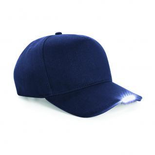 Baseballcap mit LED Licht - Beleuchtung - 69071-navy - Baumwollcap Baseballcap Hut Cappy