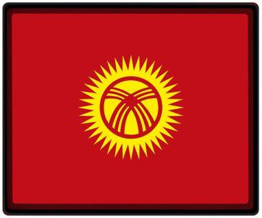 Mousepad Mauspad mit Motiv - Kirgisistan Fahne Fußball Fußballschuhe - 82082 - Gr. ca. 24 x 20 cm