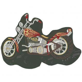 Rückenaufnäher - Bike - 08070 - Gr. ca. 25 x 30 cm - Patches Stick Applikation