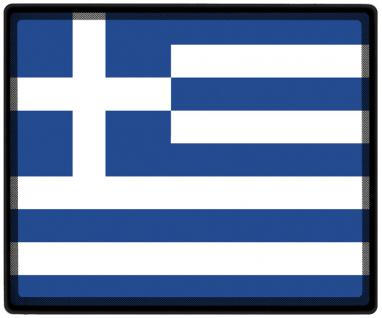 Mousepad Mauspad mit Motiv - Griechenland Fahne Fußball Fußballschuhe - 82056 - Gr. ca. 24 x 20 cm