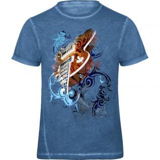 Designer T-Shirt - Grandmaster Rock - von ROCK YOU MUSIC SHIRTS - 12962 - Gr. S - XXL