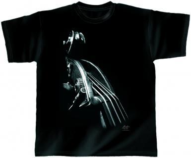 Designer T-Shirt - Galactic Bass - von ROCK YOU MUSIC SHIRTS - 10379 - Gr. XXL