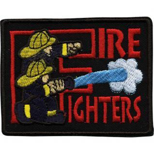 Aufnäher Applikation edles Stick-Emblem 8, 5 x 6, 5cm - Feuerwehr - 00296