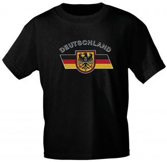 T-Shirt unisex mit Aufdruck - DEUTSCHLAND - 09421 - Gr. XL