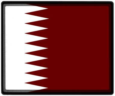 Mousepad Mauspad mit Motiv - Katar Fahne Fußball Fußballschuhe - 82080 - Gr. ca. 24 x 20 cm