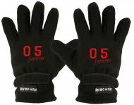 """(40385-56544) Fleece Handschuhe mit Einstickung """" 05 FOREVER"""""""