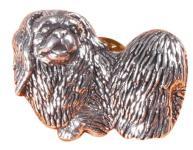 Anstecknadel - Metall - Pin - Pekinese - Hund - 02628