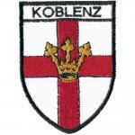 AUFNÄHER - Koblenz - 00048 - Gr. ca 10 x 8cm - Patches Stick Applikation