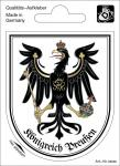 Wappenaufkleber Königreich Preußen - 301645-2 - Gr. ca. 6, 5 x 8, 0 cm