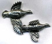 Anstecknadel - Metall - Pin - Flugente Vogel - 02598