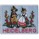 AUFNÄHER - Heidelberg - 00051 - Gr. ca. 10 x 7 cm - Patches Stick Applikation