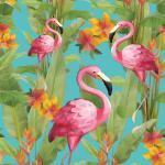 Servietten 20er Set - TISSUE mit Motiv -Flamingos- 33730 Gr. ca. 33x33cm