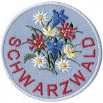 AUFNÄHER - Schwarzwald - 00052 - Gr. ca. 8 cm - Patches Stick Applikation