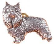 Anstecknadel - Metall - Pin - Yorkshire Terrier - Hund - 02626