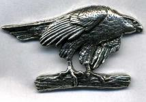 Anstecknadel - Metall - Pin - Bussard Falke - 02597