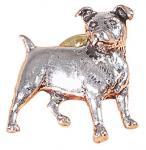 Anstecknadel - Metall - Pin - Jack Russel - Hund - 02671