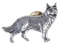 "PIN Anstecknadel Brosche "" WOLF"" NEU Gr. ca. 4cm x 3cm (02612)"