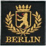 AUFNÄHER - Berlin - 00050 - Gr. ca. 7cm x 7cm - Patches Stick Applikation