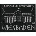 AUFNÄHER - Wiebaden - 00038 - Gr. ca 11 x 8 cm - Patches Stick Applikation